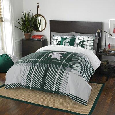 Collegiate Michigan State Comforter Set Size: Full