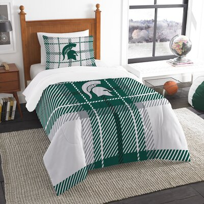 Collegiate Michigan State Comforter Set Size: Twin