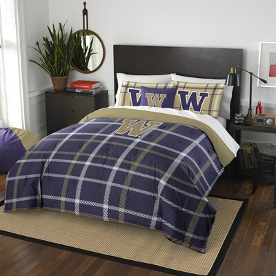 Collegiate Washington Comforter Set Size: Full