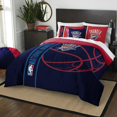 NBA Thunder Basketball Comforter Set Size: Full