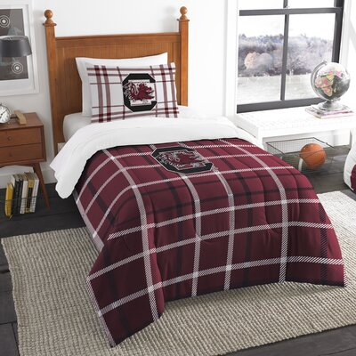 Collegiate South Carolina Comforter Set Size: Twin