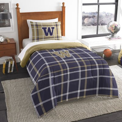 Collegiate Washington Comforter Set Size: Twin