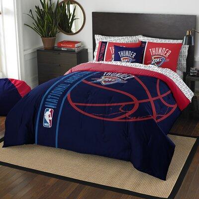NBA Thunder Comforter Set Size: Full