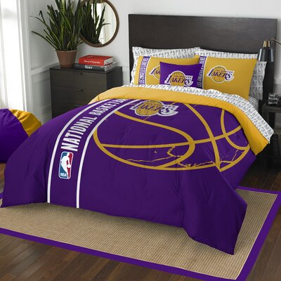 NBA Lakers Comforter Set Size: Full