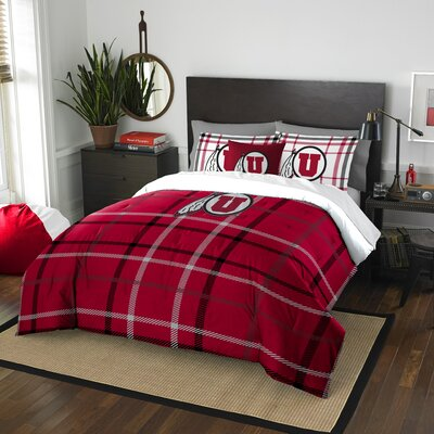 Collegiate Utah Comforter Set Size: Full