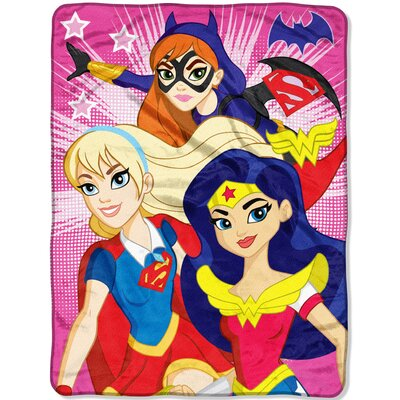 Super Hero Girls Look Sharp Throw