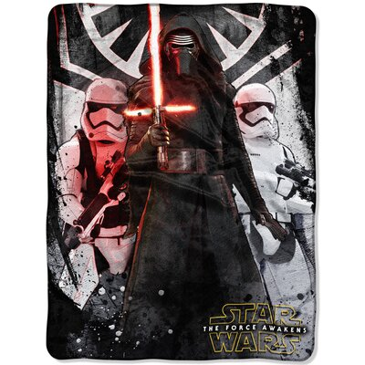 Star Wars Episode 7 First Order Throw 1DSW059000012RET