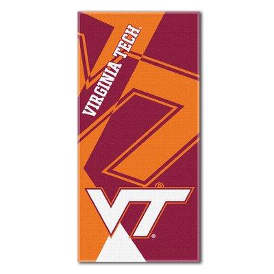 Collegiate Virginia Tech Puzzle Beach Towel