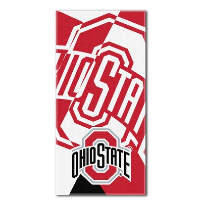 Collegiate Ohio State Puzzle Beach Towel