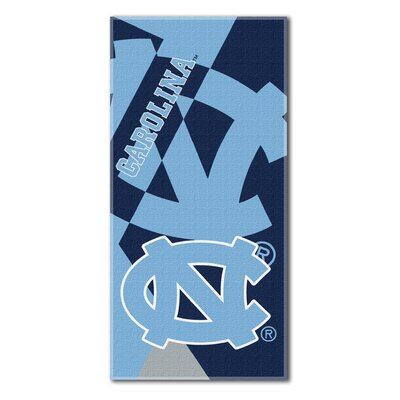 Collegiate University of North Carolina Puzzle Beach Towel