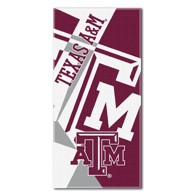 Collegiate Texas A&M Puzzle Beach Towel