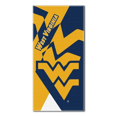 Collegiate West Virginia Puzzle Beach Towel