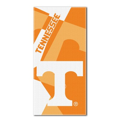 Collegiate Tennessee Puzzle Beach Towel
