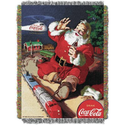 Coca Cola Santa Helicopter Throw