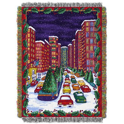 Holiday City Throw