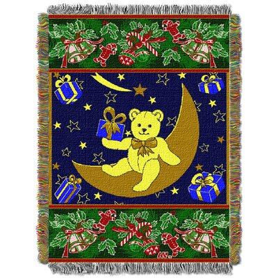 Holiday Bears Throw