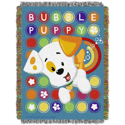 Bubble Guppies Puppy Pop Throw