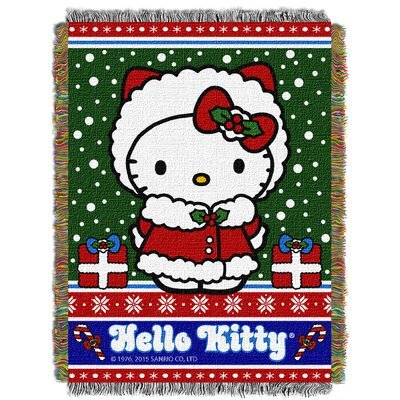 Hello Kitty Snow Kitty Throw