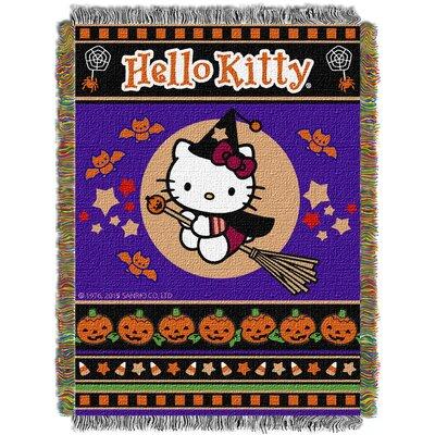 Hello Kitty Witchy Kitty Throw