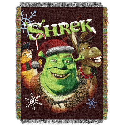 Shrek Merry Gathering Throw