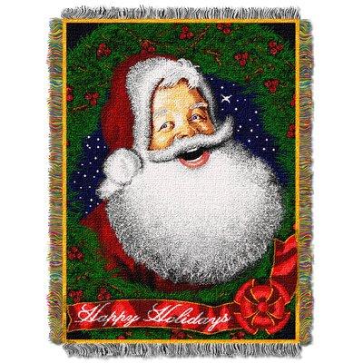 Howdy Santa Throw