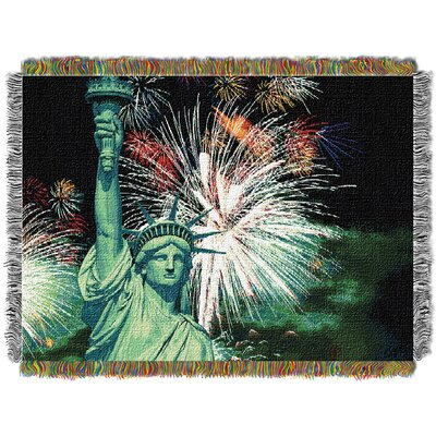 Lady Liberty Throw
