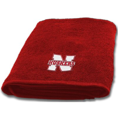Collegiate Nebraska Bath Towel
