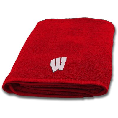 Collegiate Wisconsin Bath Towel