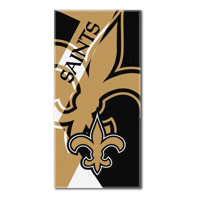 NFL Saints Puzzle Beach Towel