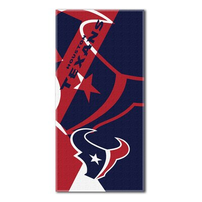 NFL Texans Puzzle Beach Towel