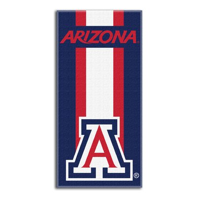 Collegiate Arizona Zone Read Beach Towel
