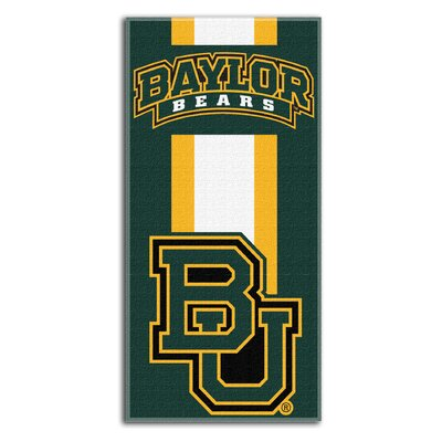 Collegiate Baylor Zone Read Beach Towel