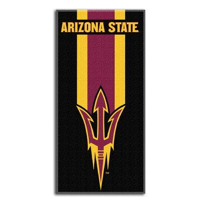 Collegiate Arizona State Zone Read Beach Towel