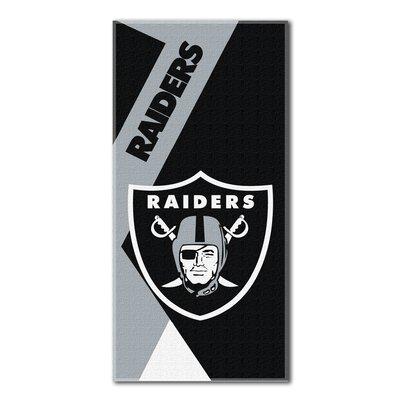 NFL Puzzle Beach Towel NFL Team: Raiders