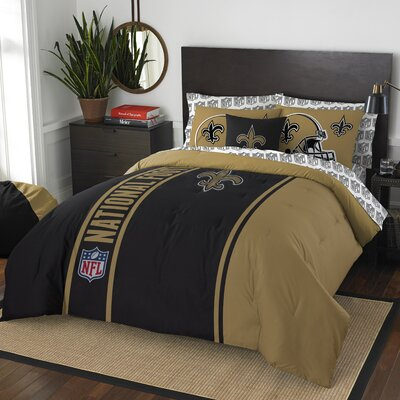 NFL Saints Comforter Set Size: Full