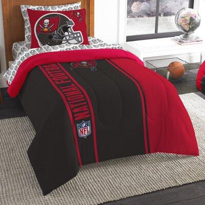 NFL Buccaneers Comforter Set Size: Twin
