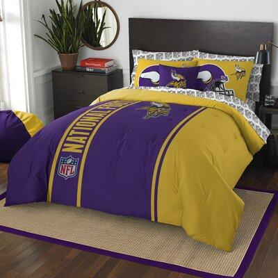 NFL Vikings Comforter Set Size: Full