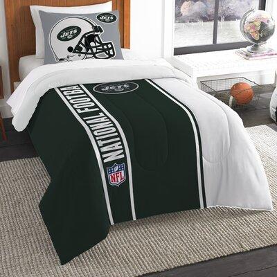 NFL Jets Helmet Comforter Set Size: Twin