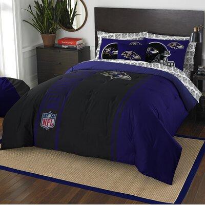 NFL Ravens Comforter Set Size: Full