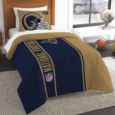 NFL Rams Comforter Set Size: Twin