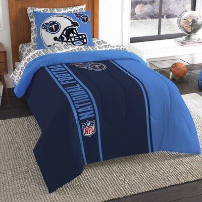 NFL Titans Comforter Set Size: Twin