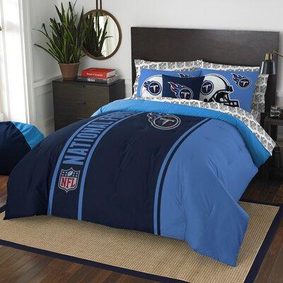 NFL Titans Comforter Set Size: Full
