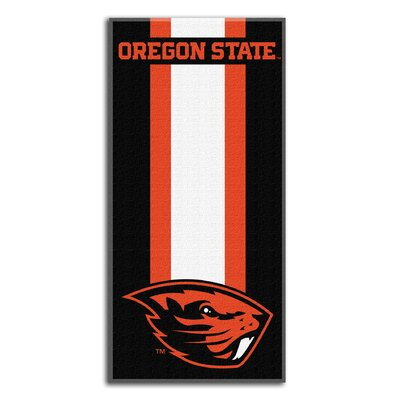 NCAA Zone Read Beach Towel NCAA Team: Oregon State University