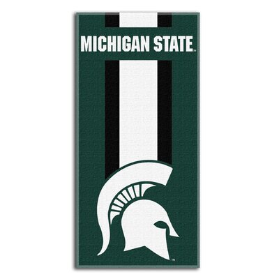 NCAA Zone Read Beach Towel NCAA Team: Michigan State University