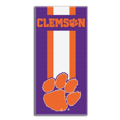 NCAA Zone Read Beach Towel NCAA Team: Clemson University