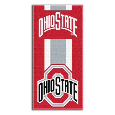NCAA Zone Read Beach Towel NCAA Team: The Ohio State University