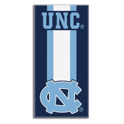 Collegiate University of North Carolina Zone Read Beach Towel