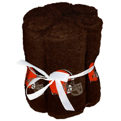 NFL Browns Wash Cloth