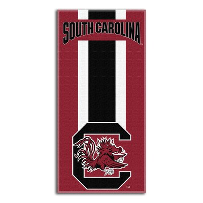NCAA Zone Read Beach Towel NCAA Team: University of South Carolina Columbia