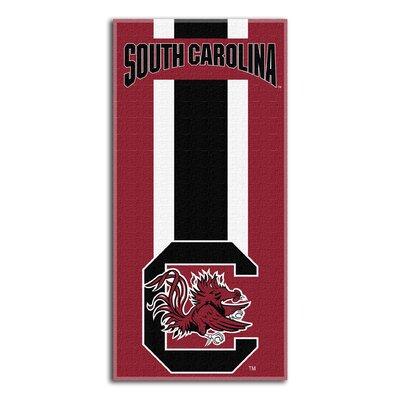 NCAA Zone Read Beach Towel NCAA Team: University of South Carolina, Columbia